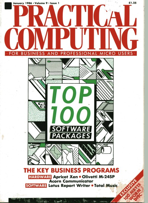 Scan of Document: Practical Computing - January 1986
