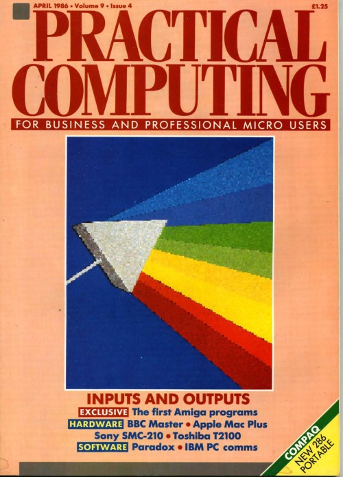 Scan of Document: Practical Computing - April 1986