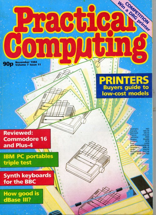 Scan of Document: Practical Computing - November 1984