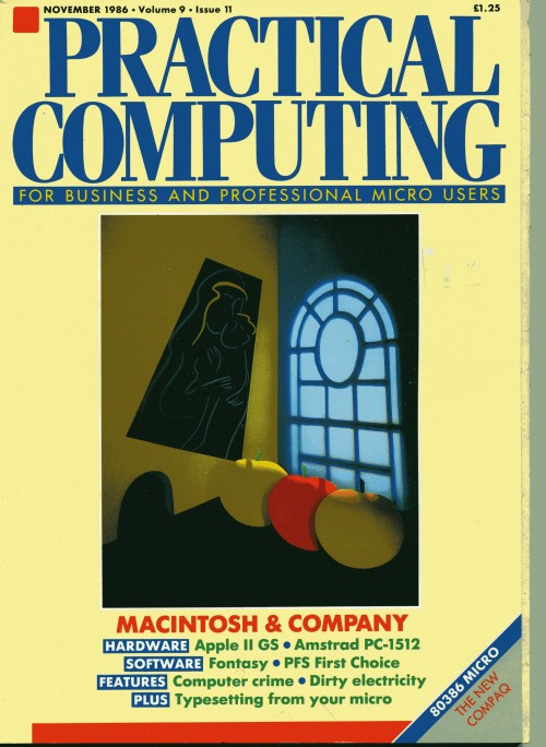 Scan of Document: Practical Computing - November 1986