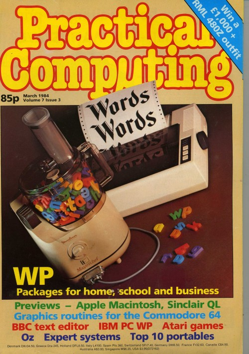 Scan of Document: Practical Computing - March 1984