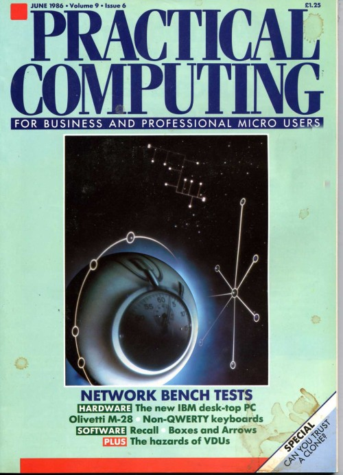 Scan of Document: Practical Computing - June 1986