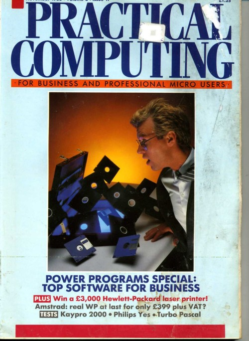 Scan of Document: Practical Computing - November 1985