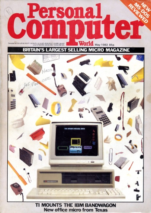 Scan of Document:  Personal Computer World - May 1983