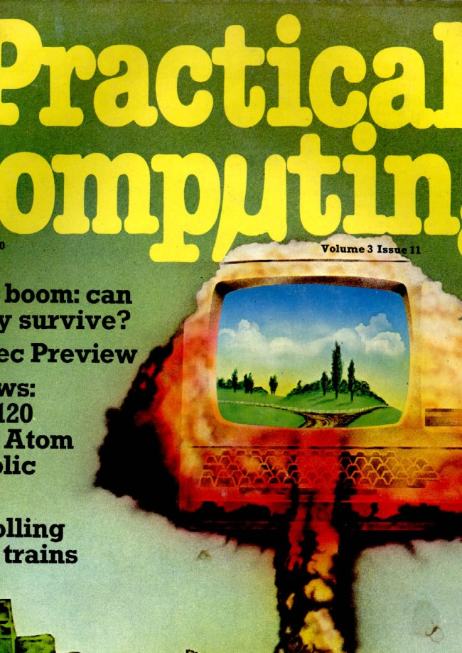 Scan of Document: Practical Computing - November 1980, Volume 3, Issue 11