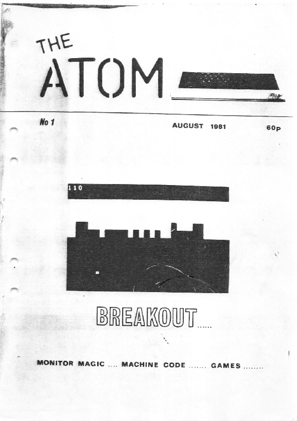 Article: The Atom - August 1981 - No 1