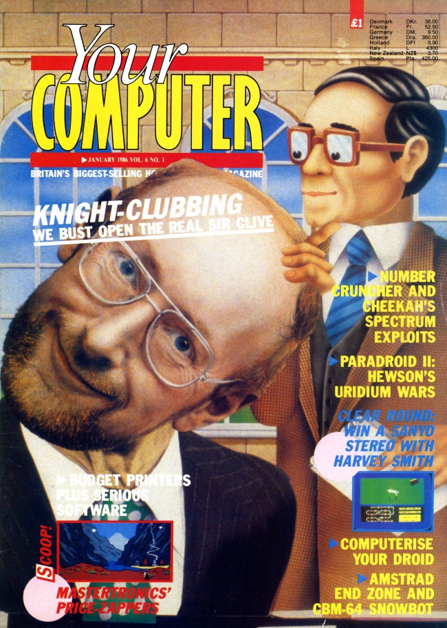 Scan of Document: Your Computer - January 1986