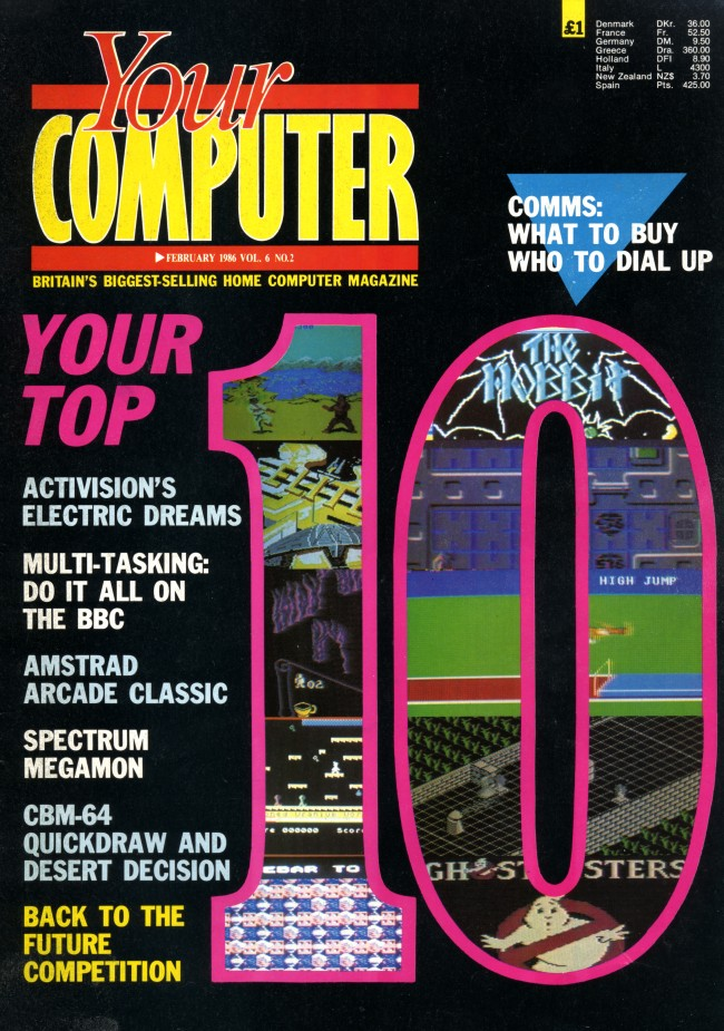 Scan of Document: Your Computer - February 1986