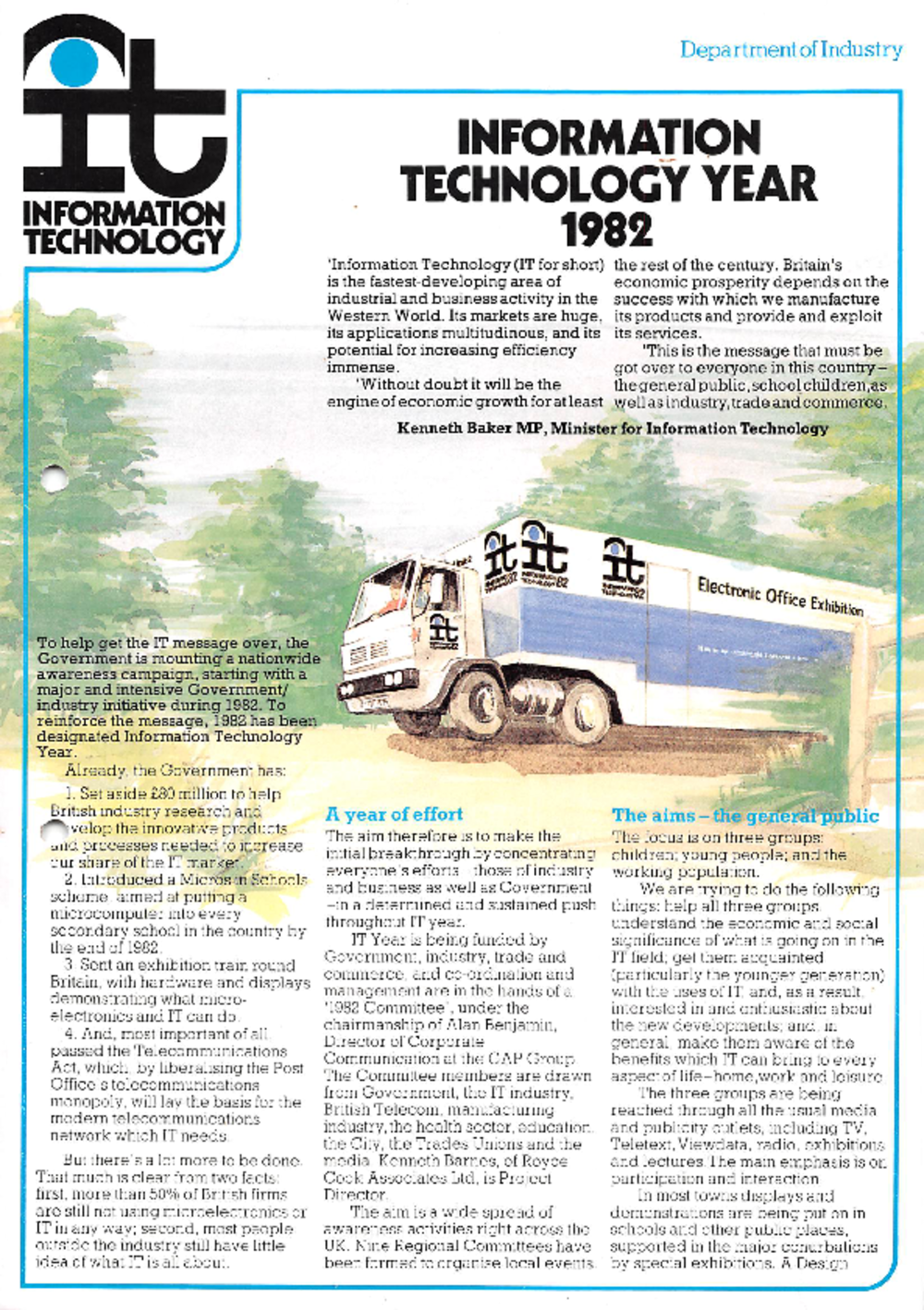 Article: Information Technology Year 1982