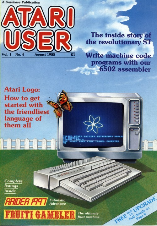Scan of Document: Atari User - August 1985