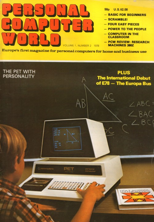 Scan of Document: Personal Computer World - May 1978 - Volume 1, Number 2