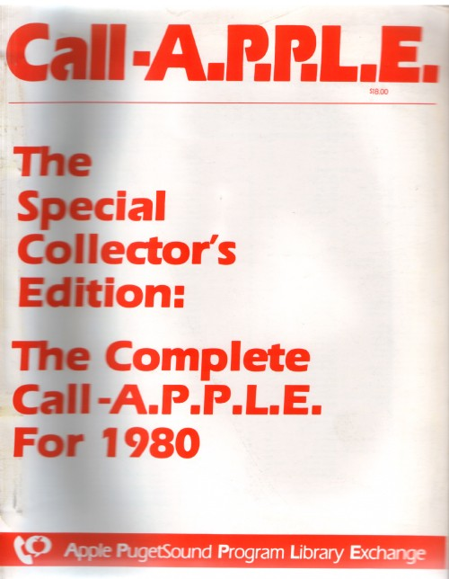 Scan of Document: Call-A.P.P.L.E. - Complete 1980 Set