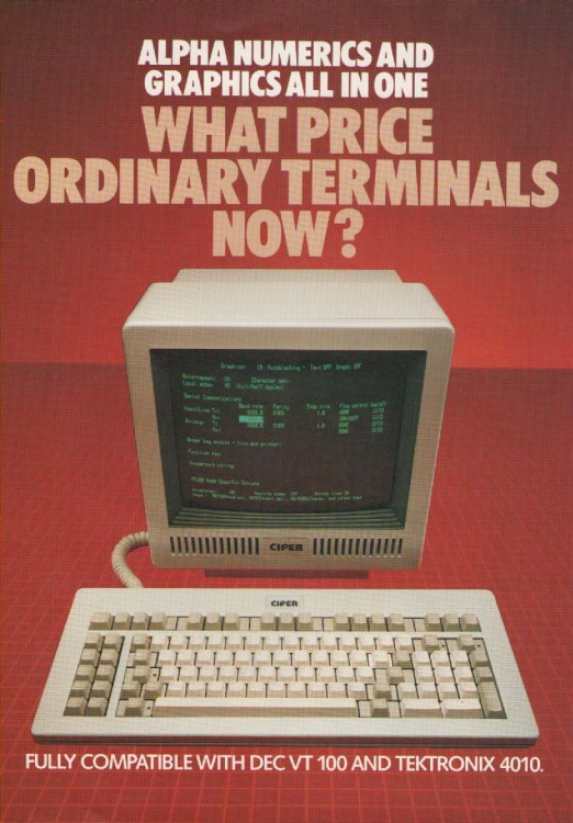 Scan of Document: Cifer T4 Terminal