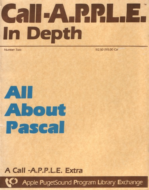 Scan of Document: Call-A.P.P.L.E. Extra - All About Pascal