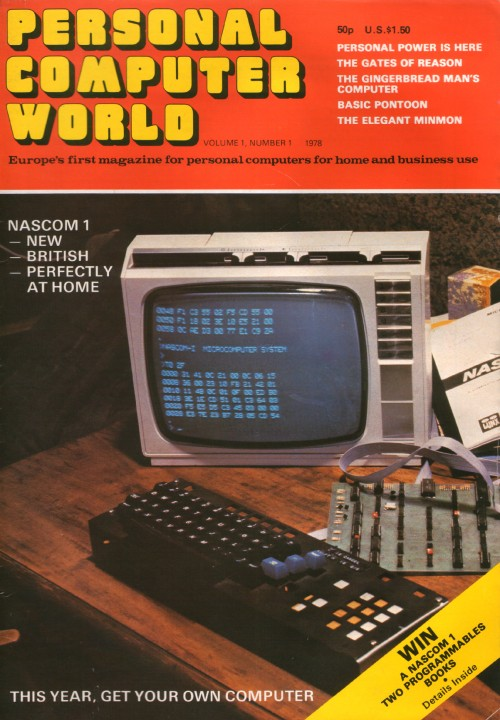Personal Computer World - May 1978 - Volume 1, Number 1 (First Issue)