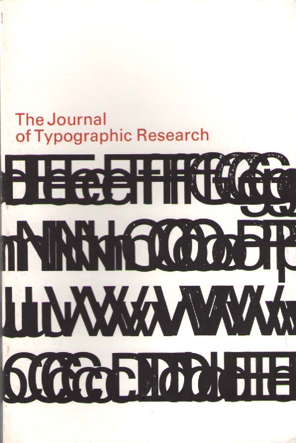 Scan of Document: The Journal of Typographic Research