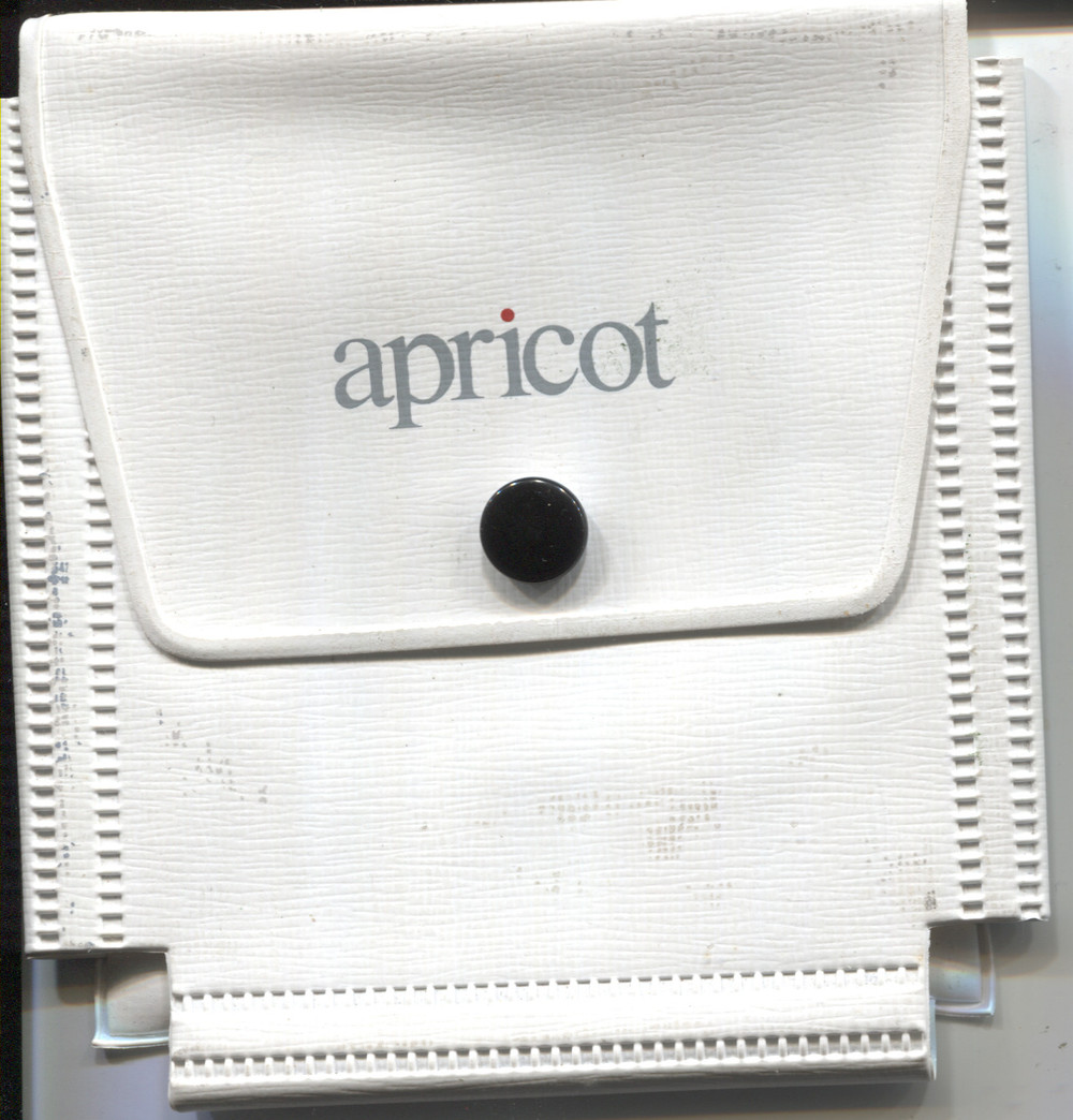 Scan of Document: Apricot Disk Holder