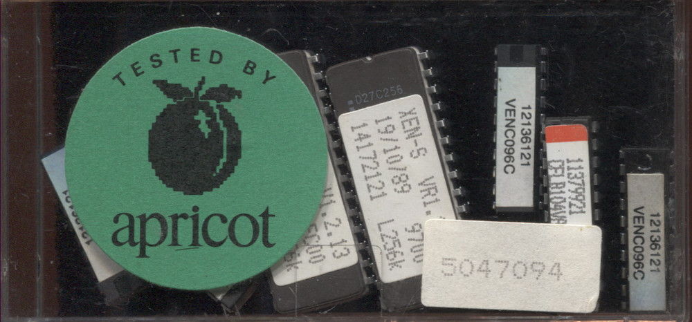 Scan of Document: Apricot XEN-S ROMs