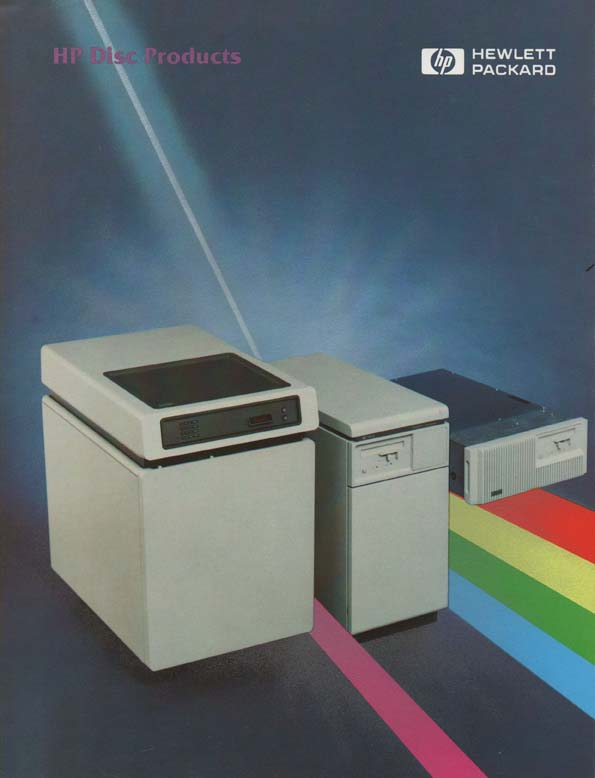 Scan of Document: HP Disc Products