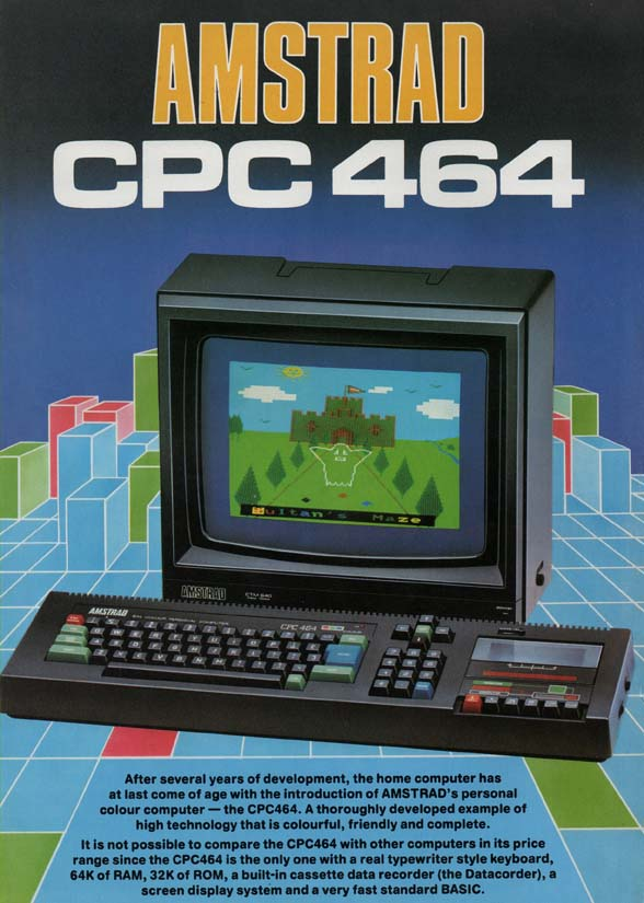 Scan of Document: Amstrad CPC464