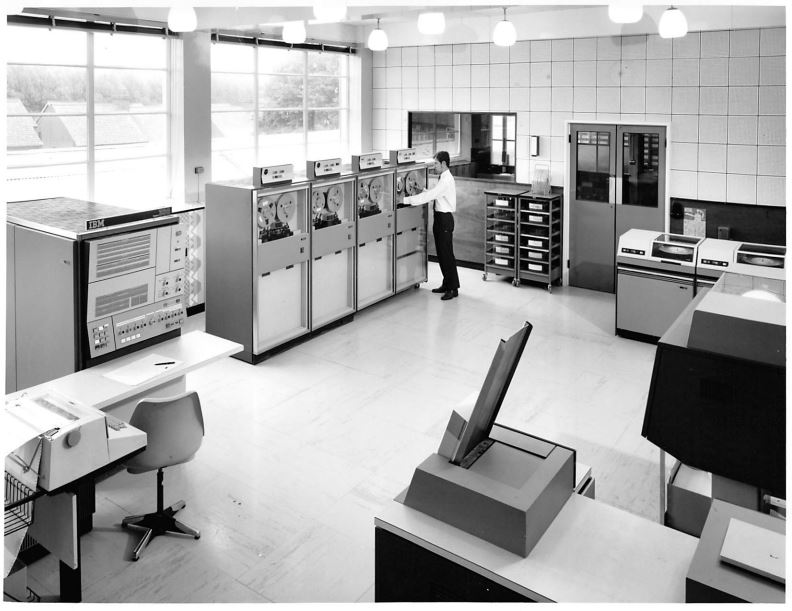 Photograph of Collection of IBM Mainframe Photographs, Late 1960s / Early 1970s