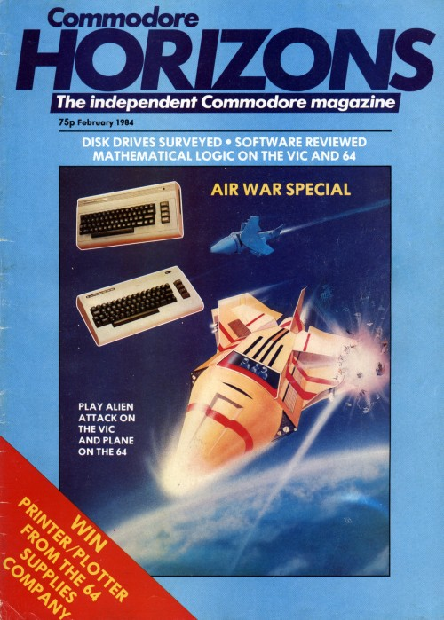 Scan of Document: Commodore Horizons - February 1984