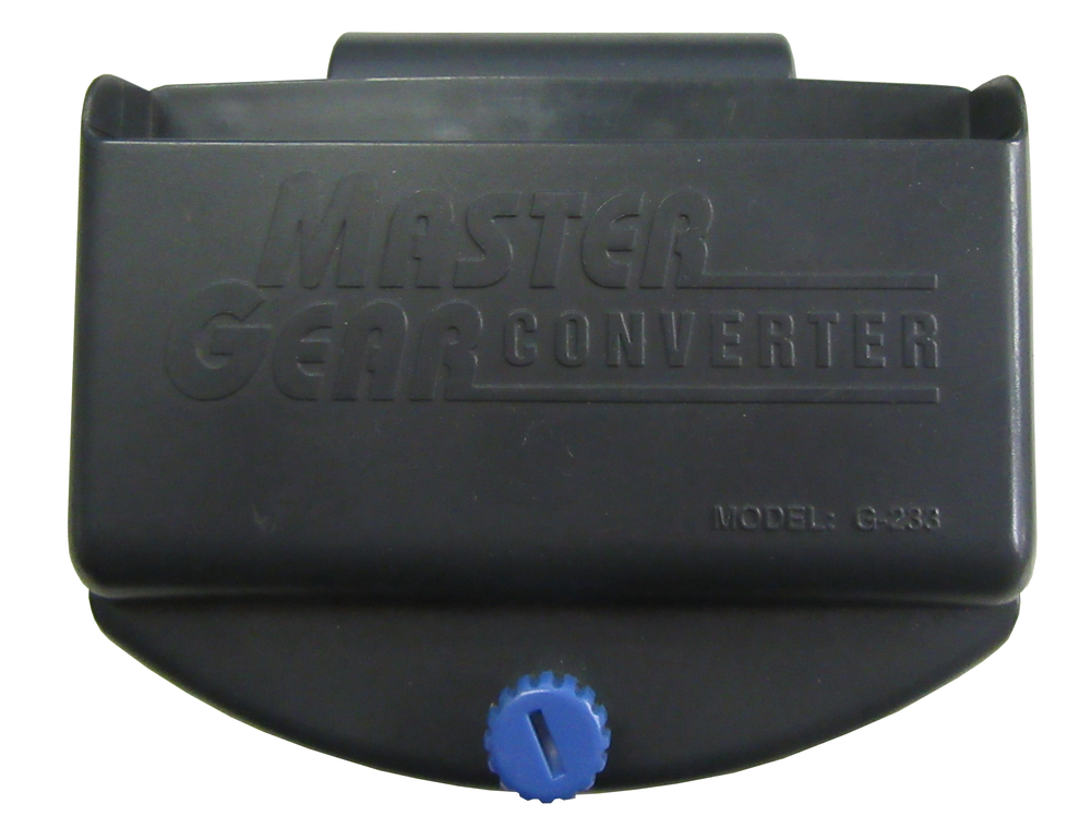 Scan of Document: Master Gear Converter