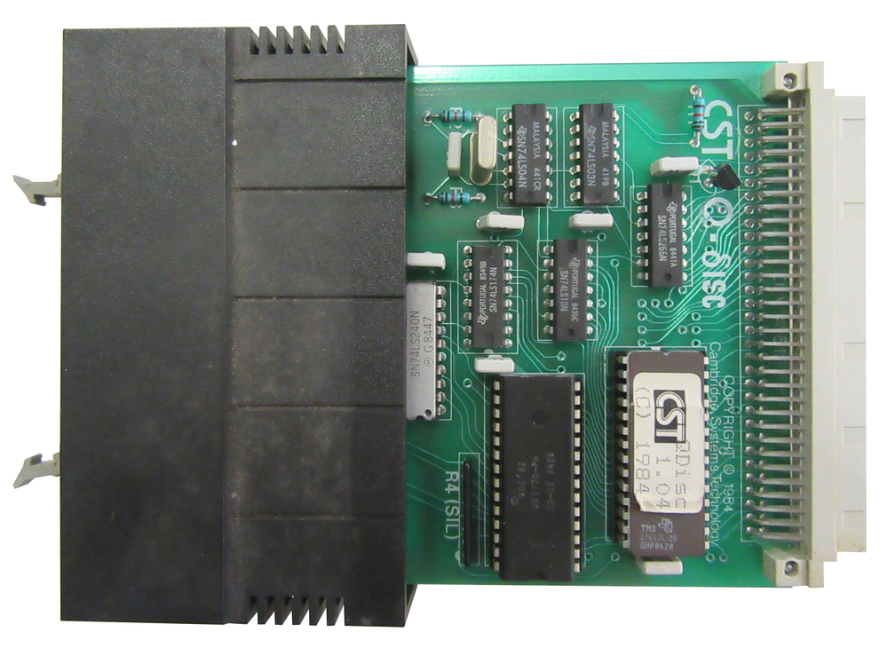 Scan of Document: Cambridge Systems Technology Floppy Disk Interface
