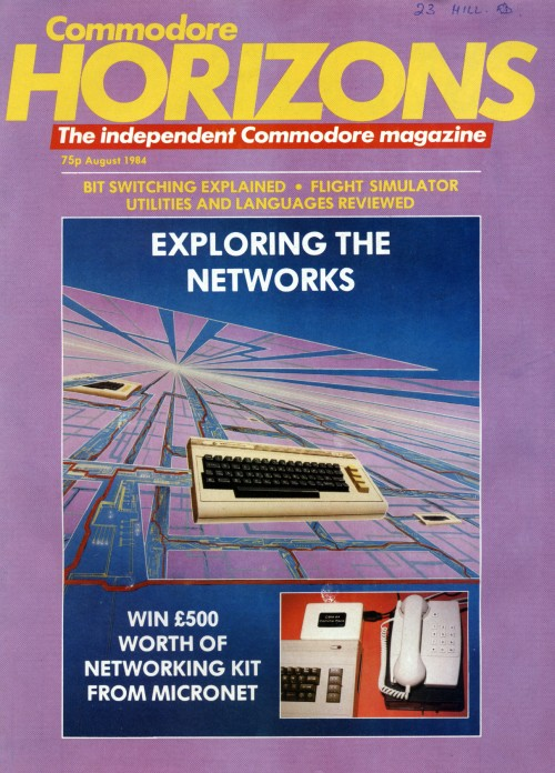 Scan of Document: Commodore Horizons - August 1984