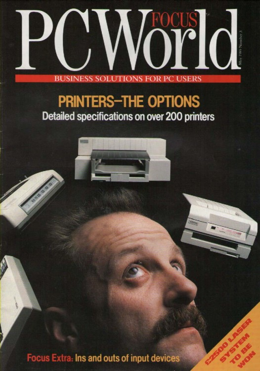 Scan of Document: PCW Focus - May 1989