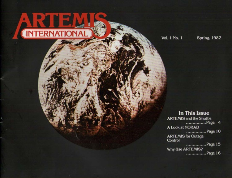 Scan of Document: Artemis International Newsletter Vol 1 No 1