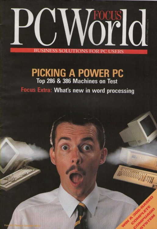 Scan of Document: PCWorld Focus - October 1989