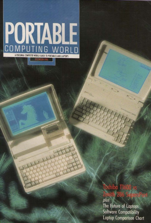 Scan of Document: Personal Computer World - Portable Computing World Supplement - December 1988