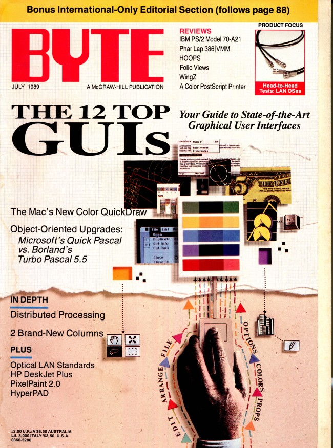 Scan of Document: Byte July 1989