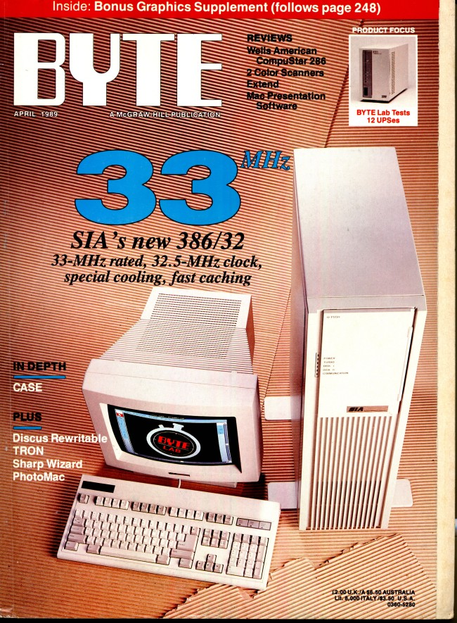 Scan of Document: Byte April 1989