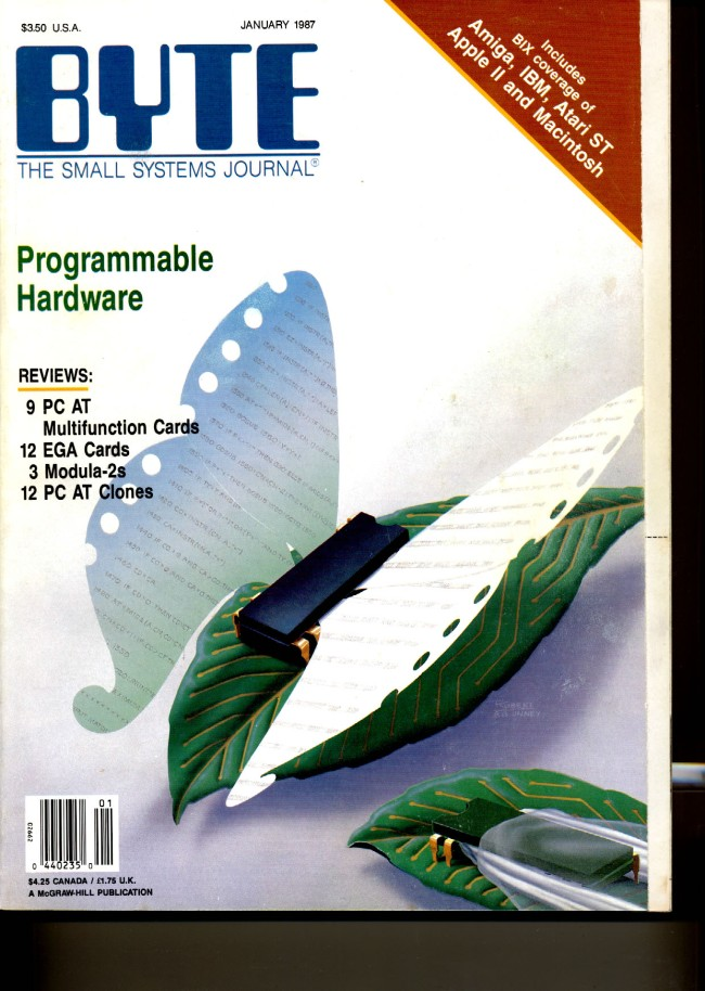 Scan of Document: Byte January 1987