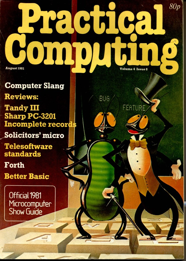Scan of Document: Practical Computing - August 1981, Volume 4, Issue 8