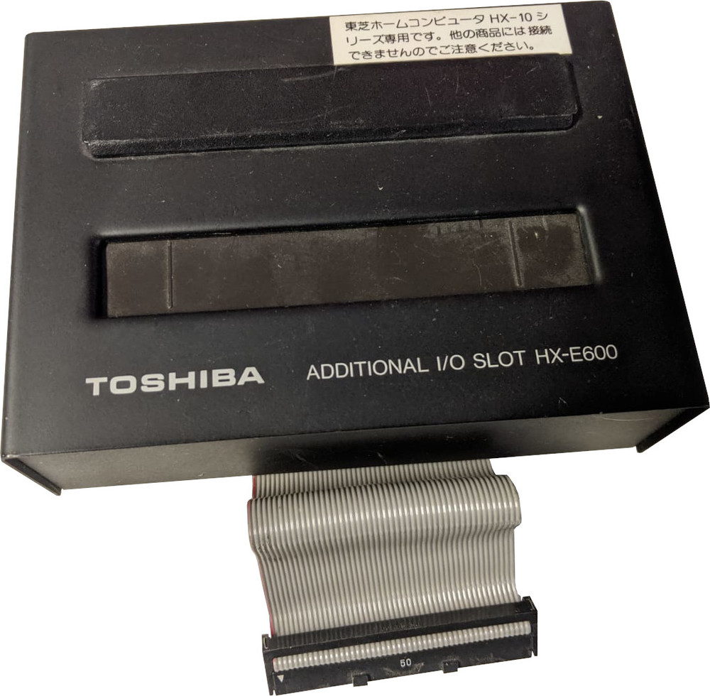 Scan of Document: Toshiba HX-E600