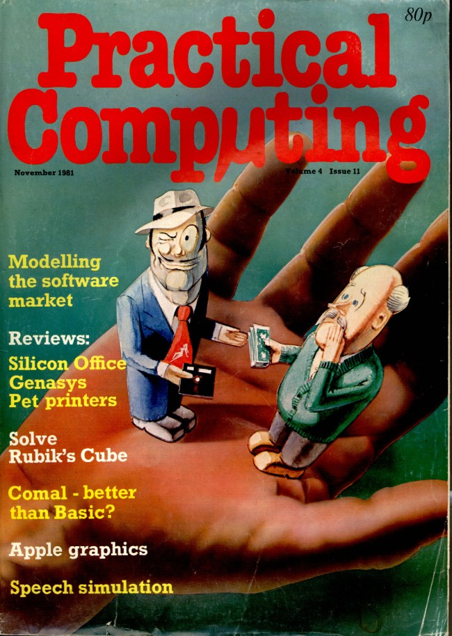 Scan of Document: Practical Computing - November 1981, Volume 4, Issue 11