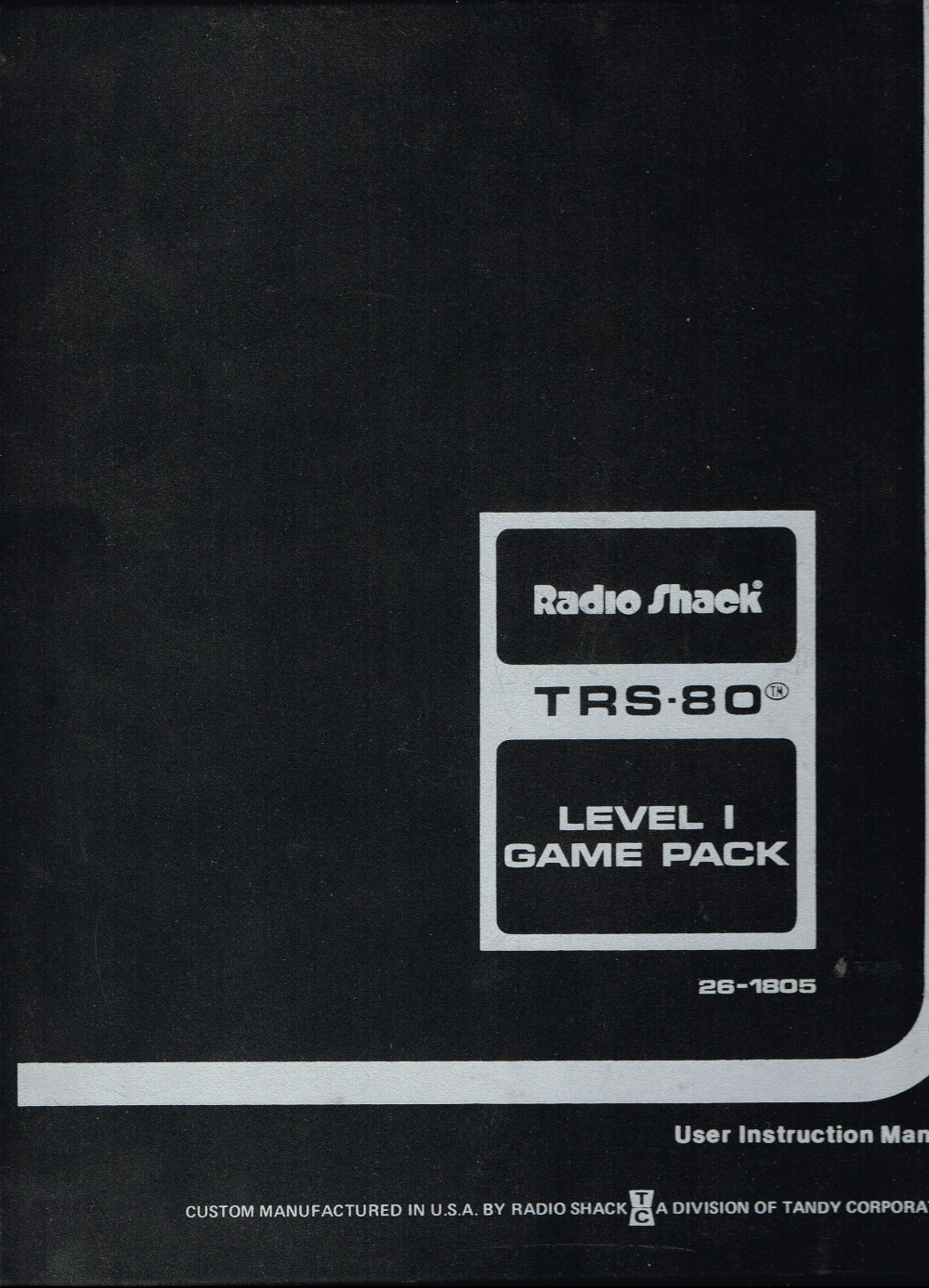 TRS-80 Level 1 Game Pack - Computing History