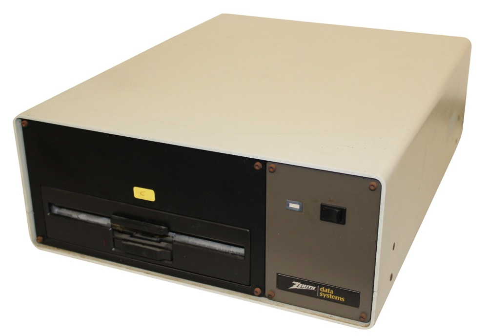 Scan of Document: Zenith Z 207-41 - 8-inch Disk Drive