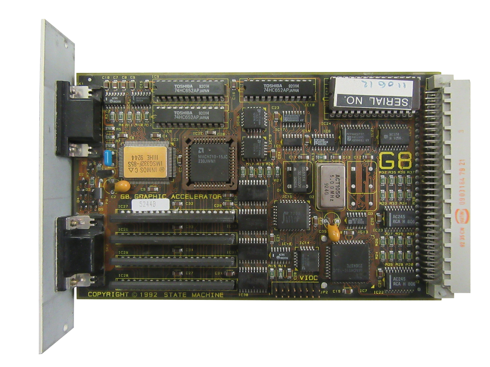 Scan of Document: State Machine G8 Graphic Accelerator
