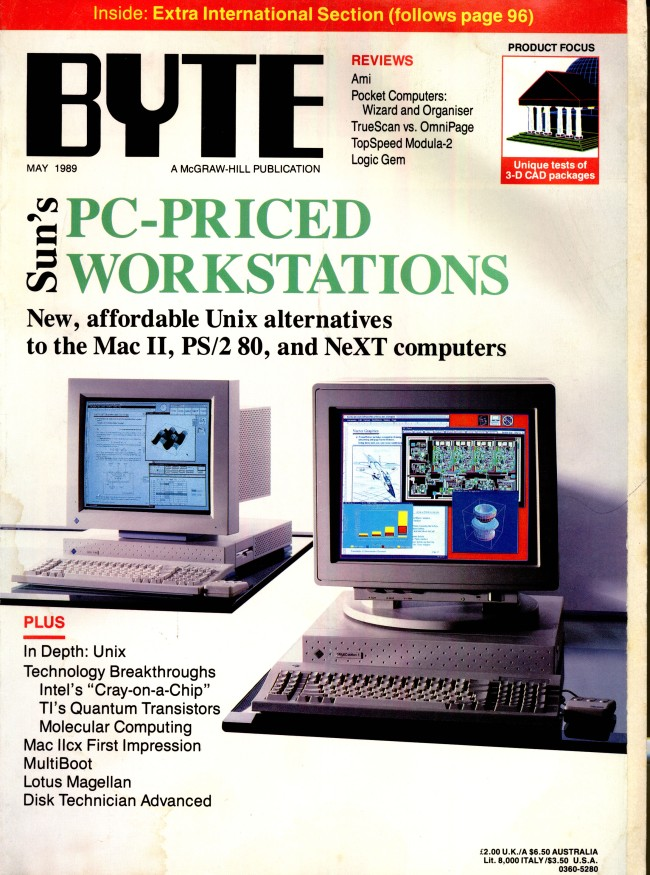 Scan of Document: Byte May 1989