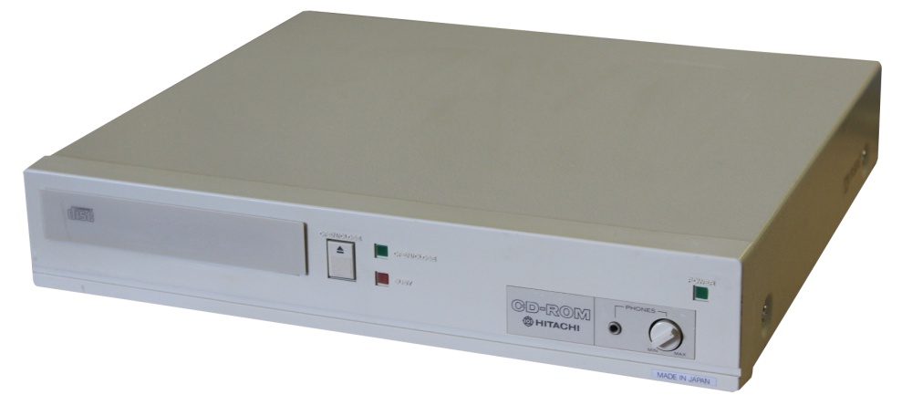 Scan of Document: Hitachi CDR-1503S - CD-ROM Drive System