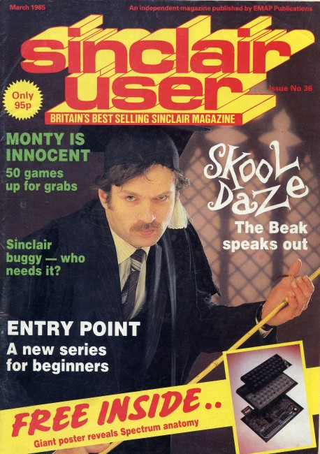 Scan of Document: Sinclair User March 1985