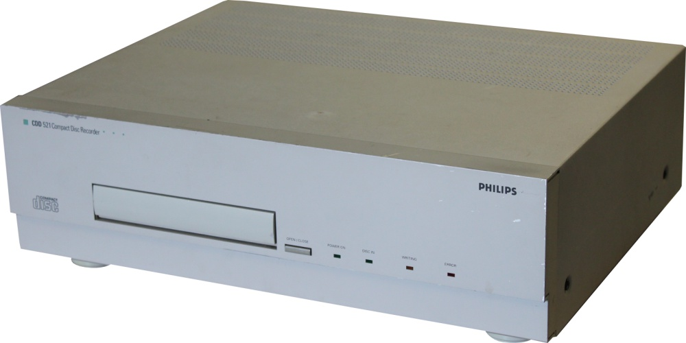Scan of Document: Philips CDD 521 - Compact Disc Recorder