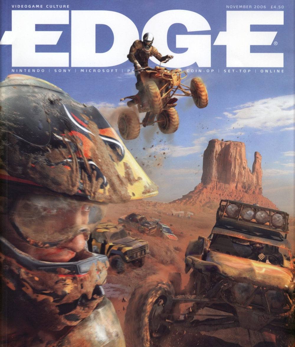 Scan of Document: Edge - Issue 168 - November 2006