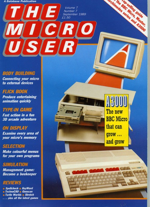 Scan of Document: The Micro User - September 1989 - Vol 7 No 7