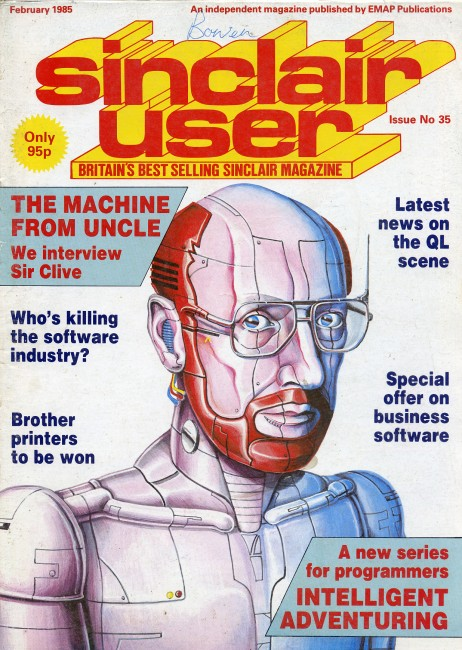 Scan of Document: Sinclair User February 1985