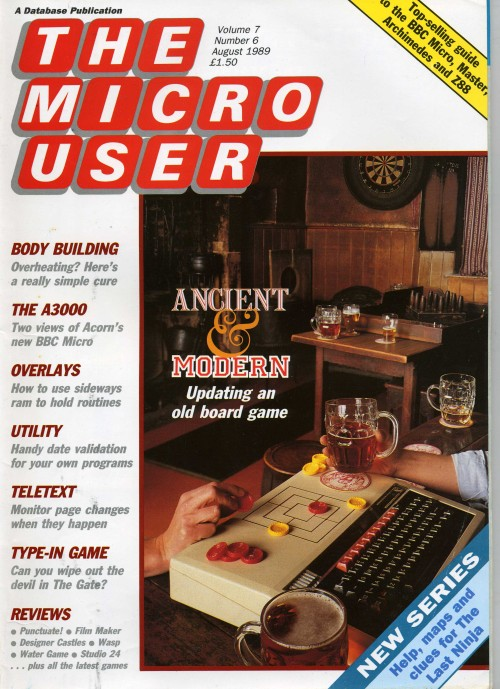 Scan of Document: The Micro User - August 1989 - Vol 7 No 6
